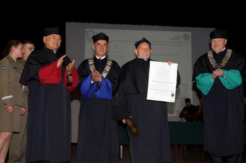 Uroczystość nadania tytułu Doktora Honoris Causa WAT prof. dr hab. inż. Eugeniuszowi Świtońskiemu