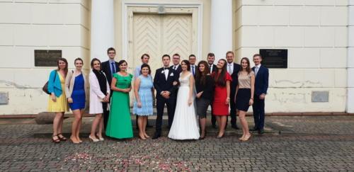 Ślub Pauliny Magdziak